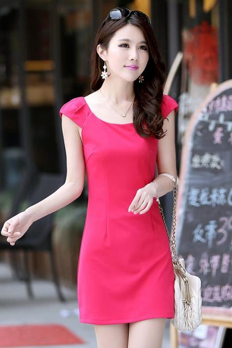 Sexy Casual Short Sleeve Bodycon Dress