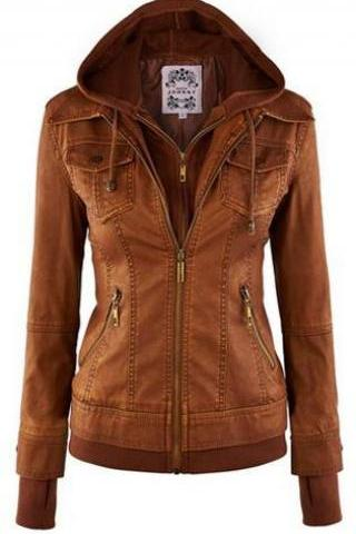 Faux Twinset Pocket Womens Jacket