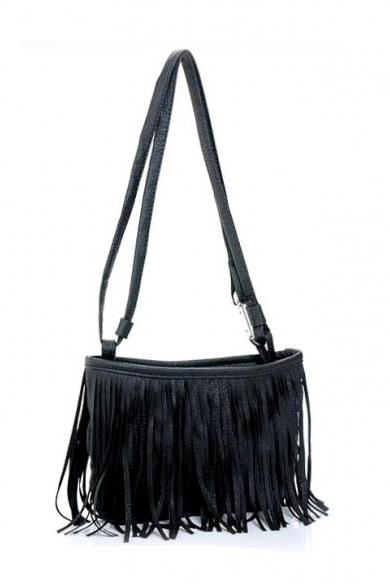 New Arrival Hotsale Women's Tassel Shoulder Bag Cross Handbag