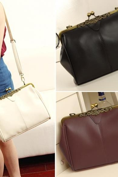 Women Retro Vintage Ladies Shoulder Purse Handbag Totes Bag Messenger Bag