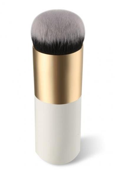 New 1PC Short Professional Foundation Makeup Face Blush Cream Powder Flat Top Portable Brush