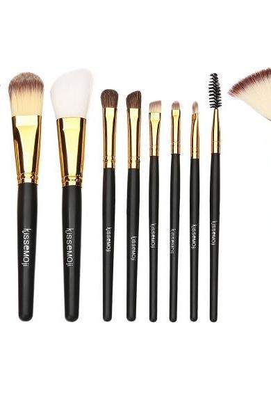 Kissemoji 10 pcs Makeup Brush Set
