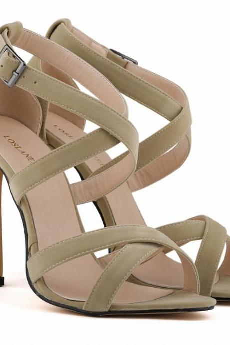 Europe Peep-Toe Sexy High Heels Women's Sandals