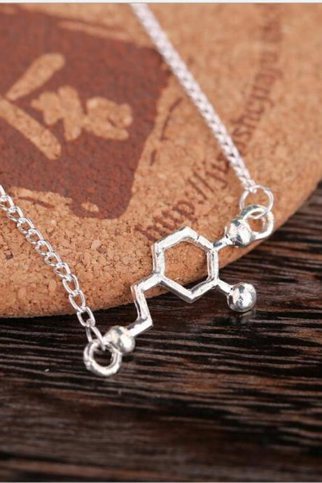 The molecular structure of DOPA Necklace