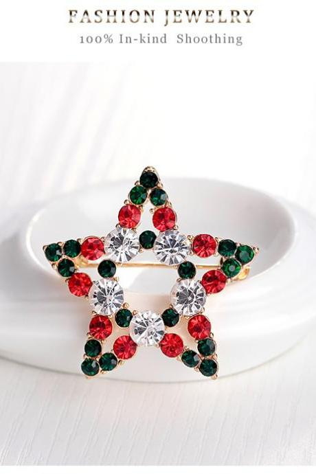 High quality Christmas Brooch