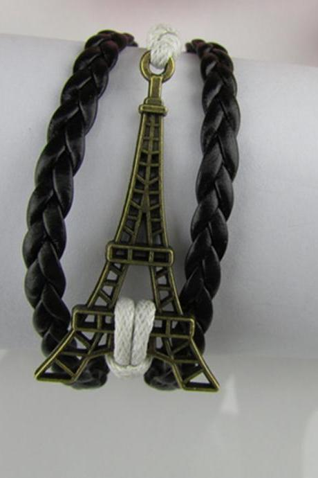 Eiffel Tower Multilayer Bracelet