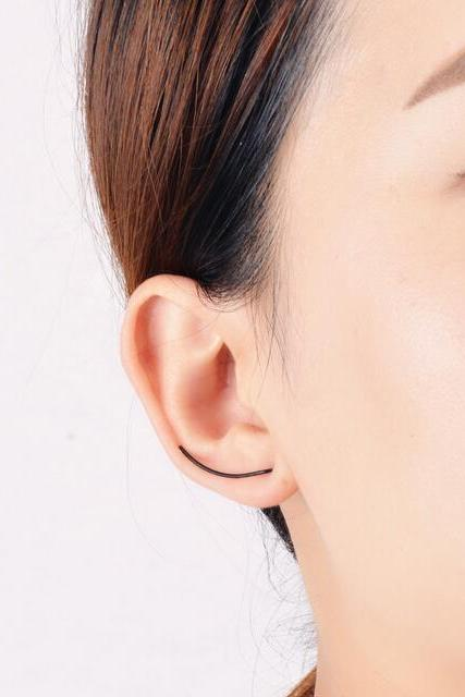 Simple Fashion Korean Style U Earrings