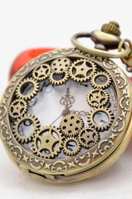 Originality Fashion Gear Pendant Pocket Watch