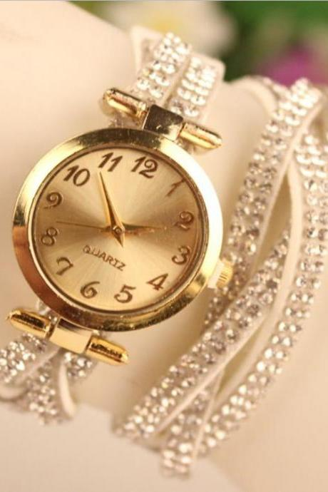 Korean Style Crystal Fashion Watch