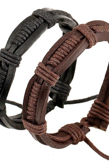 Hot Sale Leather Woven Bracelet
