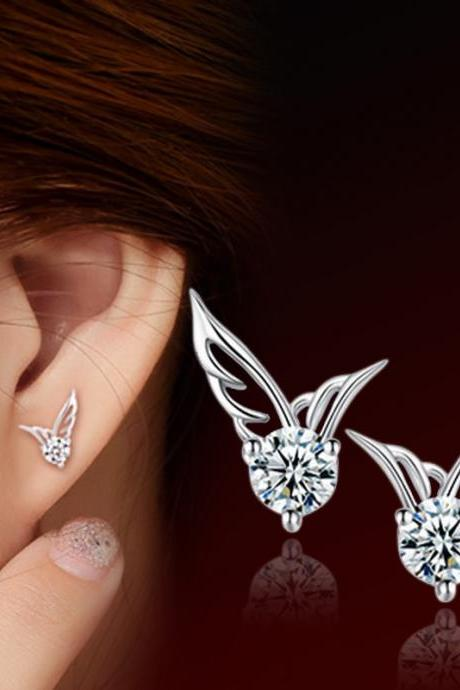 Fashion Korea Style Angel's Wing Earrings