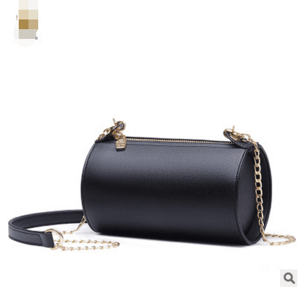 Retro Sold Color Chain Crossbody Bag