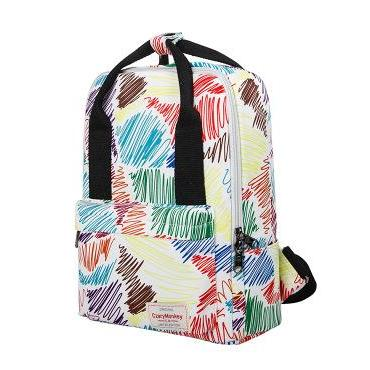 Dual-purpose Printing Canvas Backpack
