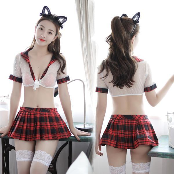 Sexy Student Mini Dress For Women