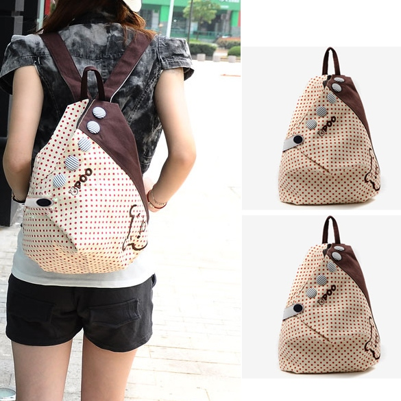 New S ummer Korean Dot Academy Shoulders Bag