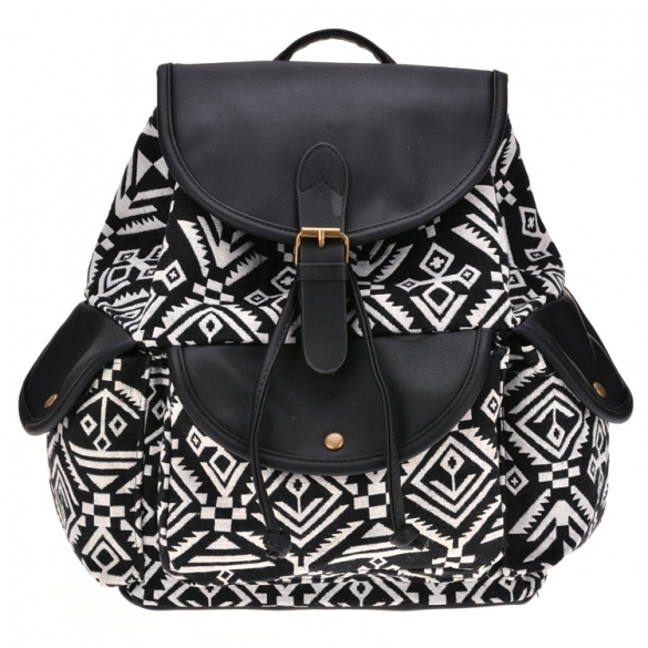 New Fashion Girls Women's Retro Shoulder Bag Backpack
