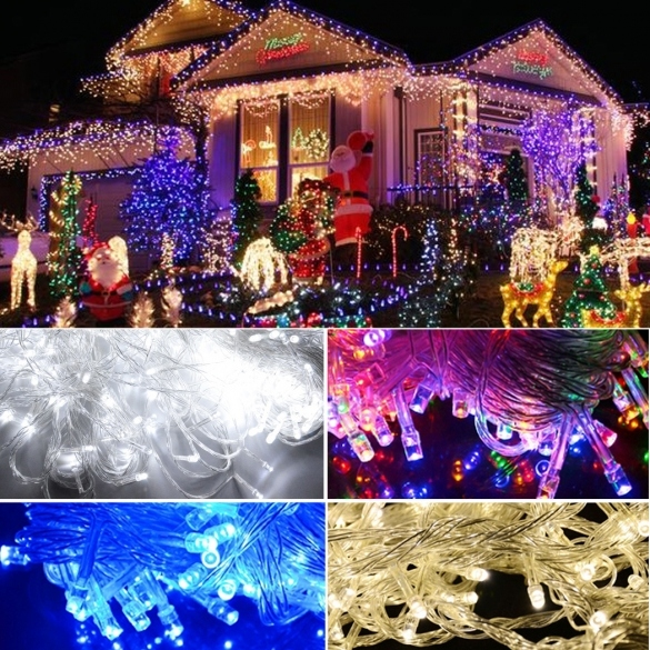 homdox waterproof home outdoor christmas holiday led hanging
