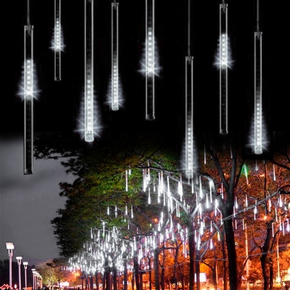 50CM Meteor Shower Rain Tubes LED Light For festival Wedding Garden Decoration