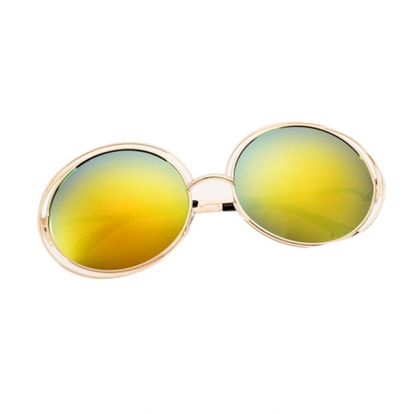 Fashion Women Sunglasses Eyewear Retro Casual Round Sun Glasses 7 Colors