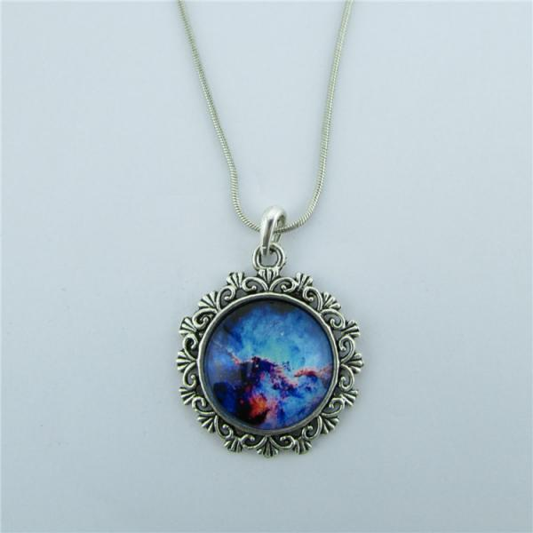 Wonderful Starry Sky Pendant Necklace