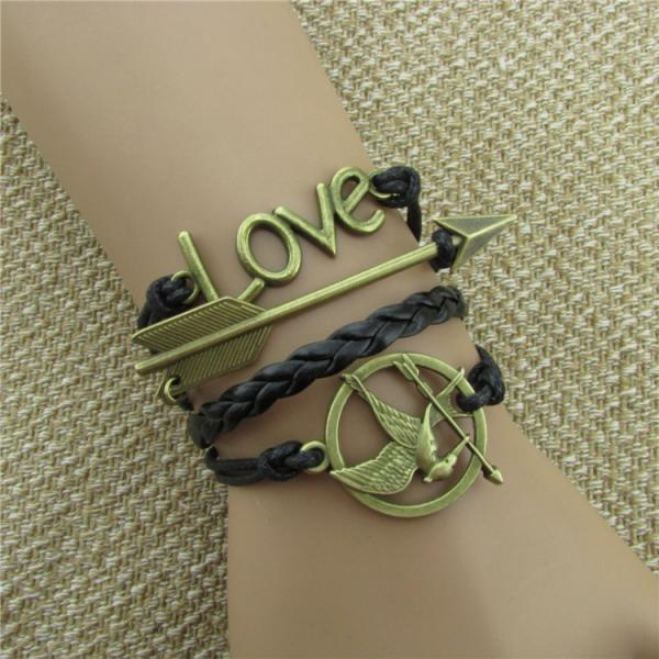 Arrow Hungry Bird Multilayer Bracelet