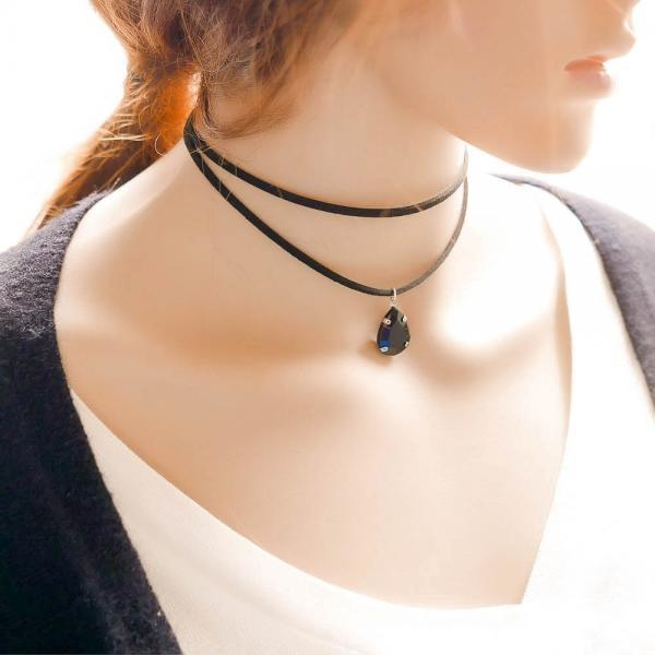 Korean fashion new creative Double Necklace